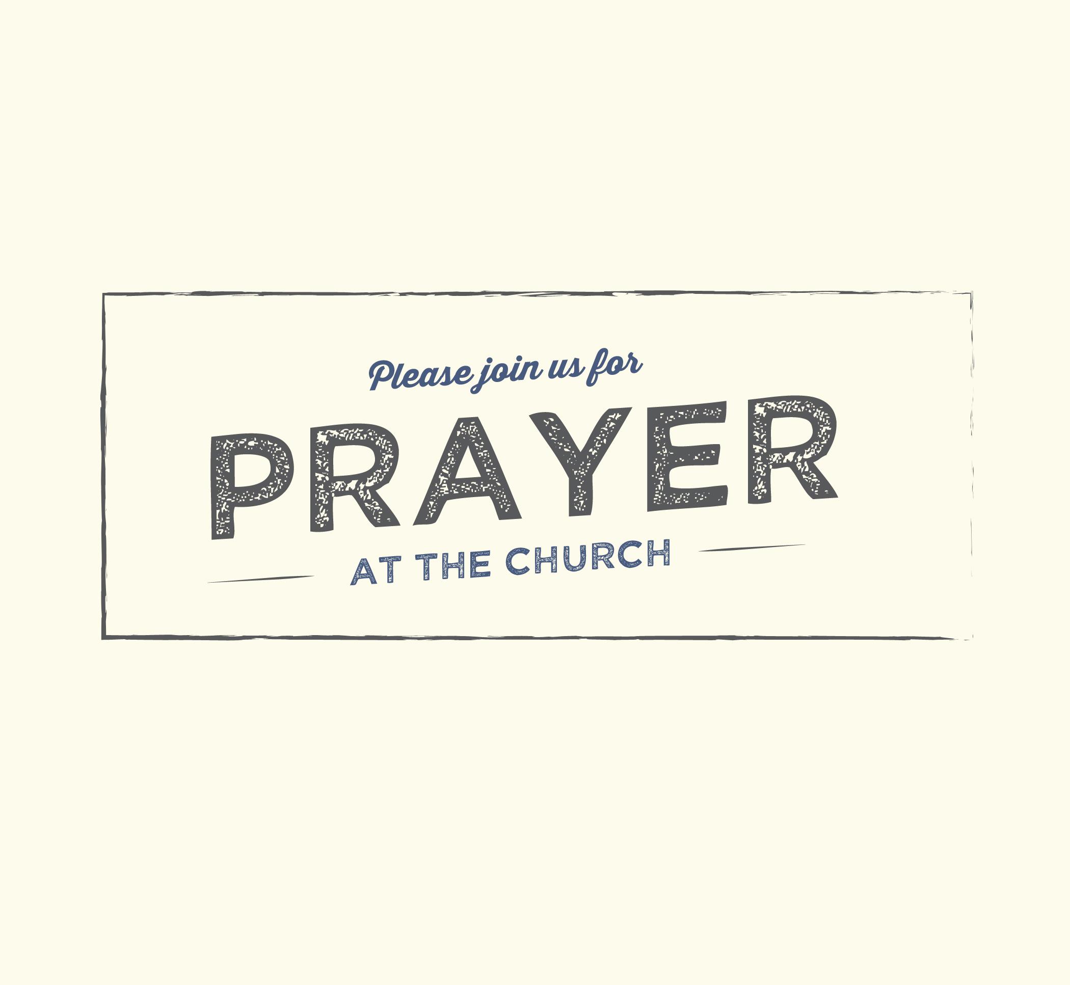 Weekly Open Prayer @ Grace Church | Port St. Lucie | Florida | United States