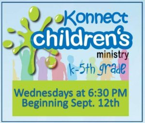 Child Discipleship Class - Konnect @ Grace Church | Port St. Lucie | Florida | United States